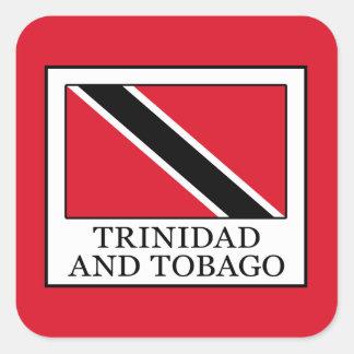 Trinidad and Tobago Square Sticker