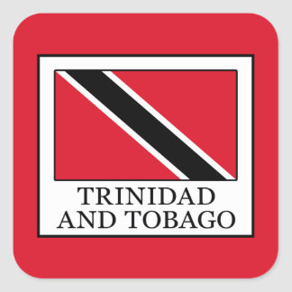 Trinidad and Tobago Square Sticker