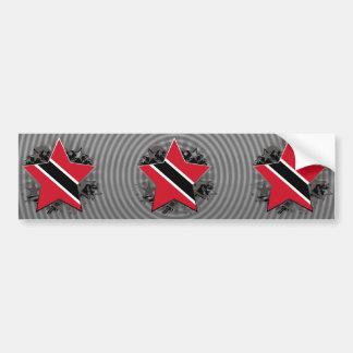 Trinidad and Tobago Star Bumper Sticker
