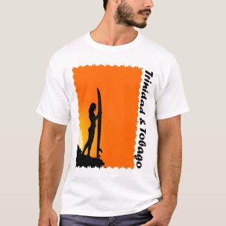 Trinidad and Tobago Surfer Girl T-Shirt