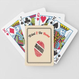 Trinidad and Tobago Trini 2 De Bone Bicycle Playing Cards