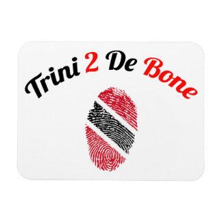 Trinidad and Tobago Trini 2 De Bone Rectangular Photo Magnet
