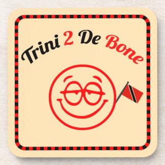 Trinidad and Tobago Trini To The Bone Drink Coaster