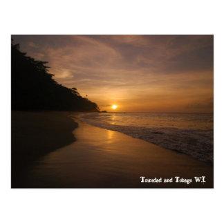 Trinidad and Tobago W.I. Postcard