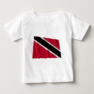 Trinidad and Tobago Waving Flag Baby T-Shirt