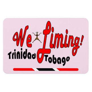 Trinidad and Tobago We Limin' Rectangular Photo Magnet