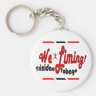 Trinidad and Tobago We Liming Keychain