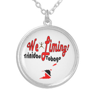 Trinidad and Tobago We Liming Silver Plated Necklace