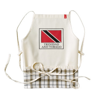 Trinidad and Tobago Zazzle HEART Apron