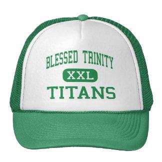 Trinidad bendecida - titanes - católico - Roswell Gorros Bordados