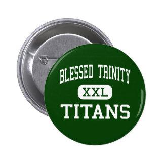 Trinidad bendecida - titanes - católico - Roswell Pins