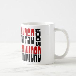 Trinidad Calypso Soca Cube Coffee Mug