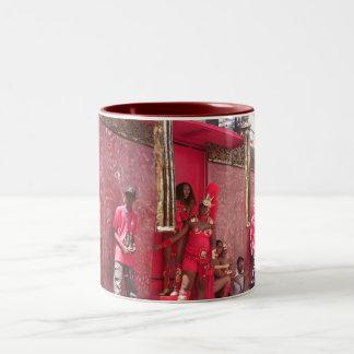 Trinidad Carnival 2006 Two-Tone Coffee Mug
