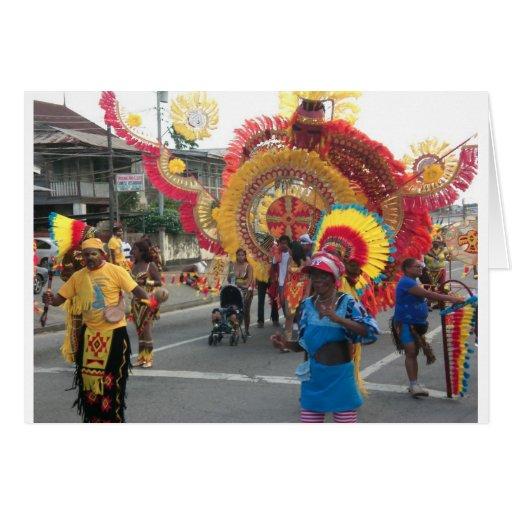 Trinidad Carnival Card
