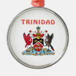 Trinidad Coat Of Arms Christmas Tree Ornament