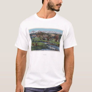 Trinidad, Colorado - Snowy Range & Valley View T-Shirt