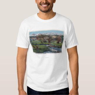Trinidad, Colorado - Snowy Range & Valley View Tee Shirt