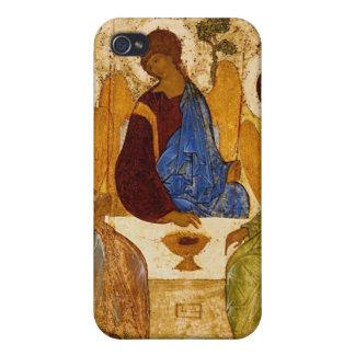 Trinidad con las alas del ángel iPhone 4 carcasas