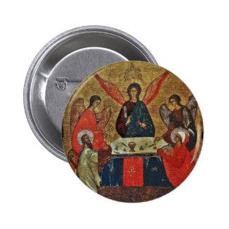 Trinidad con los santos pins