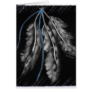 Trinidad de tres Plumas- Tarjetas