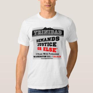 Trinidad exige la JUSTICIA O BIEN la camiseta Remeras