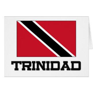Trinidad Flag Card