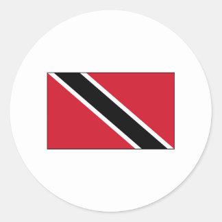 Trinidad FLAG International Classic Round Sticker