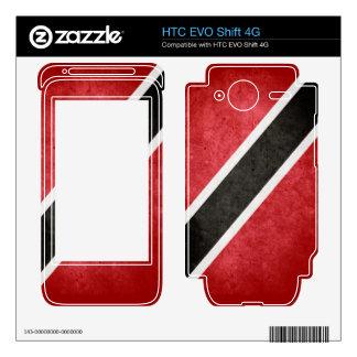 Trinidad Flag HTC EVO Shift 4G Skins
