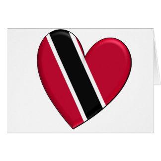 Trinidad Heart Flag Card