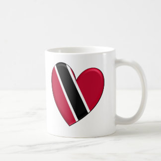 Trinidad Heart Flag Coffee Mug