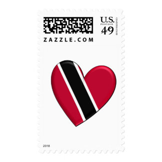 Trinidad Heart Flag Postage