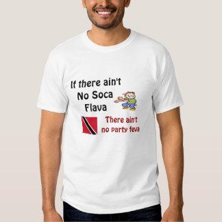 Trinidad men's  soca T-shirts