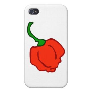 Trinidad Moruga Scorpion Chili iPhone 4/4S Covers
