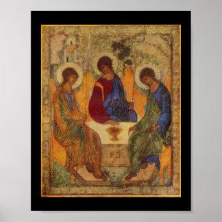 Trinidad santa con las alas c1410 poster