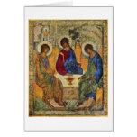Trinidad santa de Andrei Rublev Felicitacion
