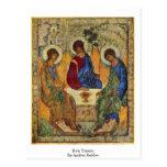 Trinidad santa de Andrei Rublev Postal