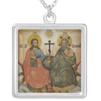 Trinidad santa (nuevo testamento) colgante cuadrado