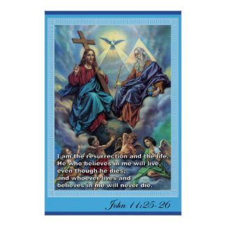 Trinidad santa póster