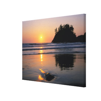 Trinidad State Beach, California. USA. Sea Canvas Print