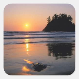 Trinidad State Beach, California. USA. Sea Square Sticker
