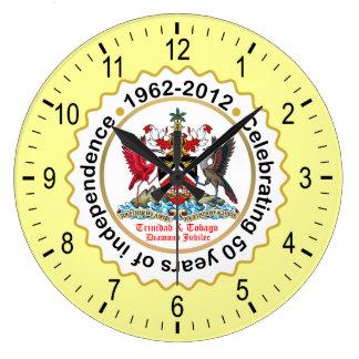 Trinidad & Tobago Coat Of Arms Wallclocks