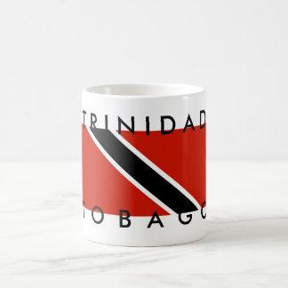 trinidad tobago country flag symbol name text coffee mug