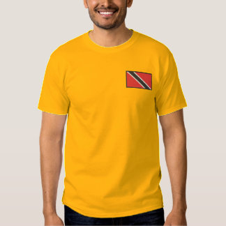 Trinidad-tobago Embroidered T-Shirt