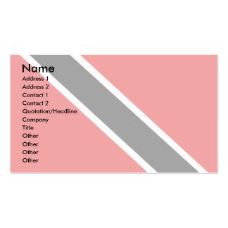 Trinidad Tobago Flag Business Card