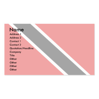 Trinidad Tobago Flag Double-Sided Standard Business Cards (Pack Of 100)