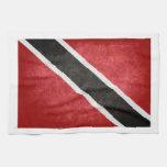 Trinidad & Tobago Flag; Hand Towels
