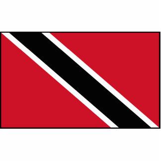 Trinidad & Tobago Flag Statuette