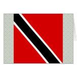 Trinidad Tobago High quality Flag Greeting Card