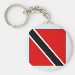 Trinidad Tobago High quality Flag Key Chain