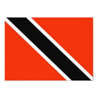 Trinidad & Tobago 5x7 Paper Invitation Card
